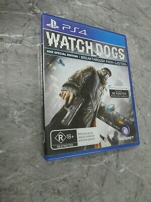 AU8.70 • Buy Watch Dogs - PS4 (PAL) Game, GRB2