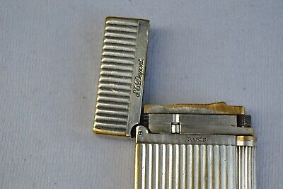 £235 • Buy ST. Dupont Paris Lighter Line 2 GATSBY Silver Plated , Rare