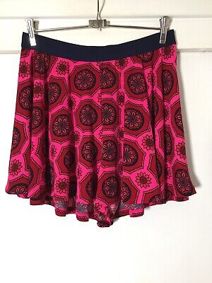 AU31.45 • Buy Tigerlily Womens Boho Pink Floral Flare Skirt Size M Great Condition!