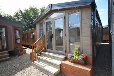 NEW Sunrise Micro Lodge 33x12 | 2 Bed Mobile Home | Winterised Log Cabin • 25,995£