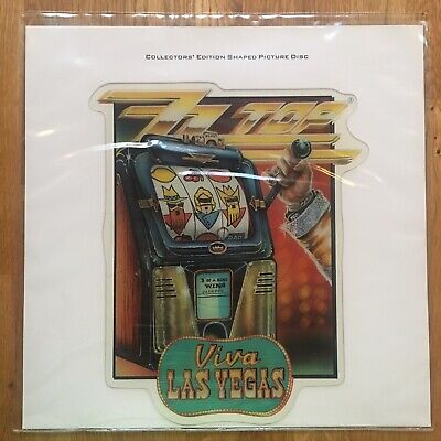 ZZ Top ‎– Viva Las Vegas (vinyl) Picture Disc • 12£