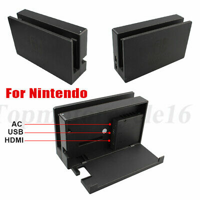 $28.99 • Buy For Nintendo Switch Console Screen TV Dock Station ONLY - HAC-007 Black