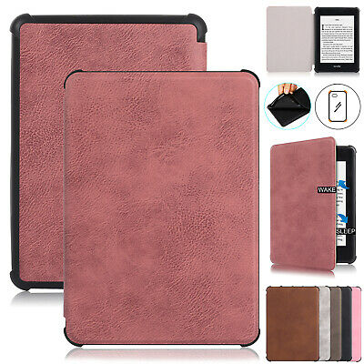 For Amazon Kindle Paperwhite 2018 Case Retro Leather Flip Stand Shockproof Cover • 7.29£