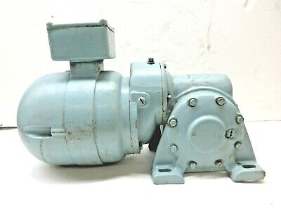 $528 • Buy Electra Right Angle Gear Motor, 4169b149f48 Jh, 1/3 Hp, 1 Phase, Frame- 66e469
