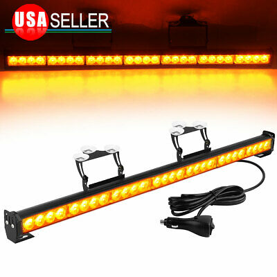 $36.45 • Buy 31  28 LED Emergency Flash Strobe LED Light Traffic Advisor- Amber Signal Lamp