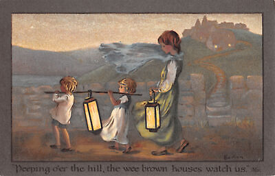 £6.75 • Buy R291548 Deeping O Er The Hill. The Wee Brown Houses Watch Us. C. W. Faulkner. Se