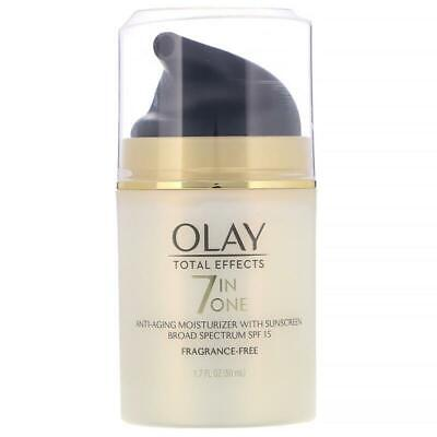 AU68 • Buy Olay, Total Effects, 7-in-One Anti-Aging Moisturizer With Sunscreen, SPF 15, Fra