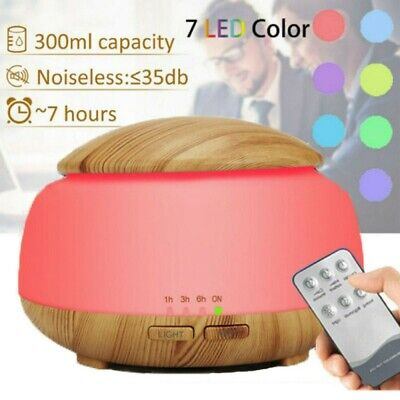 AU30.99 • Buy 7 Color Aromatherapy Diffuser 3D Aroma Essential Oils Ultrasonic Air Humidifier