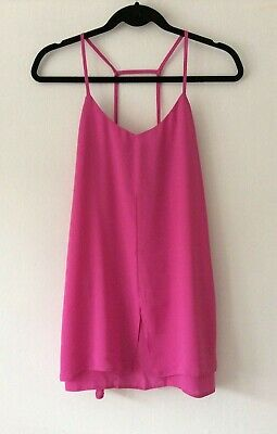 Topshop Pink Cami Dress, UK Size 12 Immaculate • 20£