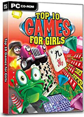 Top 10 Games For Girls (PC GAME) NEW & SEALED • 17.99£