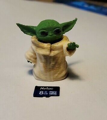 $11.99 • Buy Baby Yoda 3D Printed And Painted Figure Fan Art