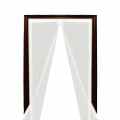 £7.99 • Buy Magic Door Curtain Mesh Magnetic White Fastening Hands Free Insect Fly Screen