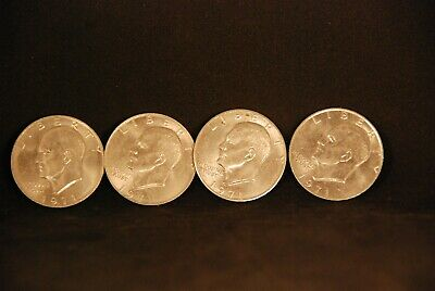 $8.95 • Buy Lot Of 4 1971 Eisehow Liberty One Dollar Coin