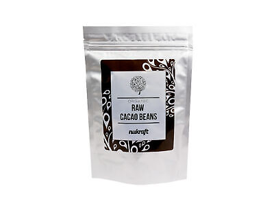 £5.39 • Buy 250g Organic CACAO / COCOA BEANS By NUTRICRAFT™  - Raw Criollo From Peru