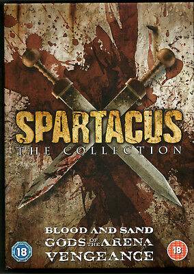 The Spartacus Collection (PAL) (2012) Andy Whitfield • 14.99£