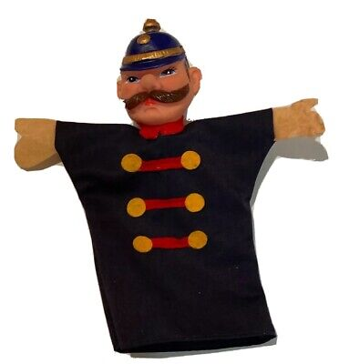 $15.88 • Buy Vintage Mr. Rogers Neighborhood Colorful Police  Hand Puppet Mint Condition