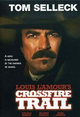 CROSSFIRE TRAIL (2008) Tom Selleck, Virginia Madsen NEW SEALED REGION 1 DVD NTSC • 12.99£