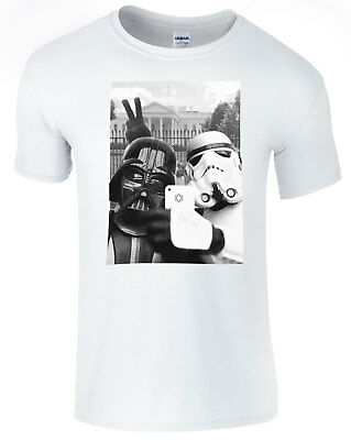 Star Wars The White House USA Selfie Unisex Comedy T-Shirt • 8.99£