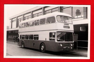 Potteries Bus Photo - Procters Hanley AVT249C - 1965 Alexander Daimler Fleetline • 2.75£