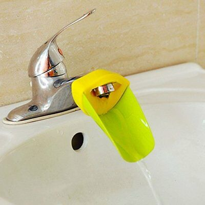 $7.97 • Buy Jiemu Faucet Extender Bathroom Safety For Toddlers, Kids, Green, Yellow From USA