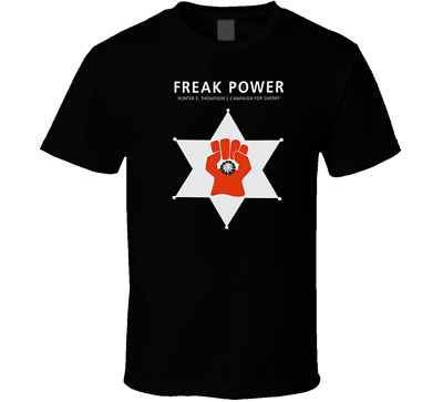 $25.45 • Buy  Hunter S. Thompson Gonzo Freak Power Logo Shirt Tshirt Men's Free Shipping