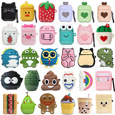 $ CDN6.26 • Buy For Apple Airpods 2 Shockproof Airpods Case 3D Animals Kids Skin Charging Cover