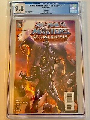 $2299.99 • Buy He-Man And The Masters Of The Universe #1 Variant CGC 9.8 - Dave Wilkins MOTU