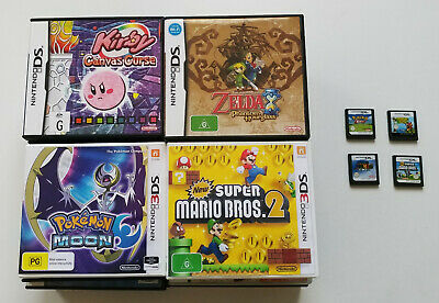 AU7.95 • Buy (Tested) Nintendo DS Games, Bulk Lot, Please Choose