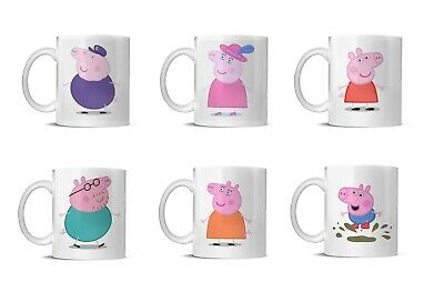 PEPPA PIG FAMILY MUG's CAN BE PERSONALISED  • 7.59£