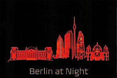 NEW Postcard, BERLIN At Night, Humor, Novelty, Fun, Funny, Germany HH7 • 1.99£