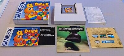 $ CDN57.08 • Buy Qbert Nintendo Game Boy GB Complete In Box CIB
