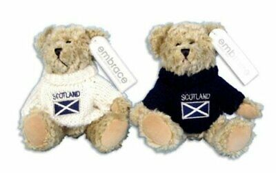 £7.99 • Buy Small Bear With Scotland Sweater - Soft Toys Scottish St Andrews Kids Gift Toy