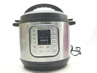 $50.32 • Buy Instant Pot Duo 80 7-in-1 Electric Pressure Cooker, Slow Cooker, Rice Cooker, St