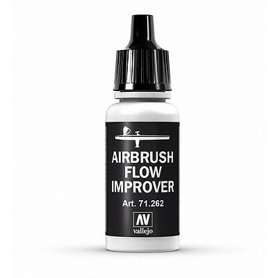 Vallejo Model Air: Airbrush Flow Improver - Acrylic Paint Bottle 17ml VAL71.262 • 2.30£