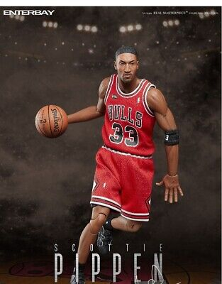 $354.65 • Buy ENTERBAY 1/6 Scale EB Bulls Pippen Basketball Player Male Figure Collectible