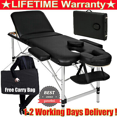 Lightweight Portable Massage Table Spa Reiki Couch Eyelash Beauty Couch Bed 2020 • 69.90£