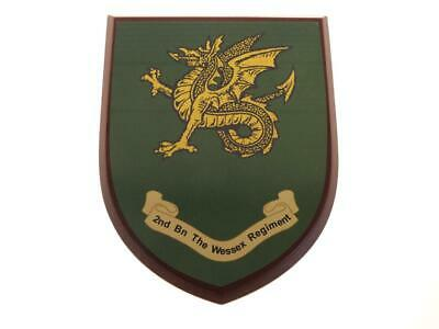2nd Bn The Wessex Regiment Classic Hand Made In Uk Regimental Wall Plaque • 19.99£
