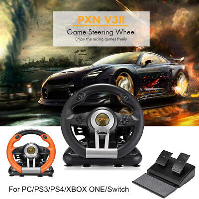 $139.88 • Buy PXN Driving Racing Game Steering Wheel Brake Pedal For PC PS3 PS4 XboxOne Switch