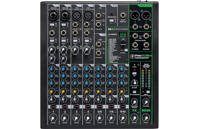 $229.99 • Buy Mackie ProFX10 V3 10-Channel Professional Effects Mixer With USB, New!