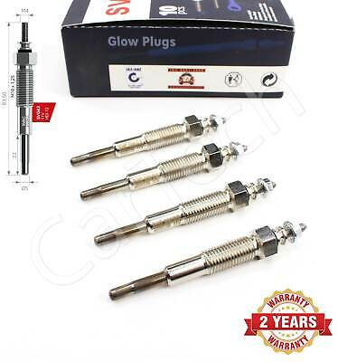 £14.95 • Buy 4x For Ford Ranger Mazda B-serie E-serie 2.5d Heater Glow Plugs Xm3412a342ba