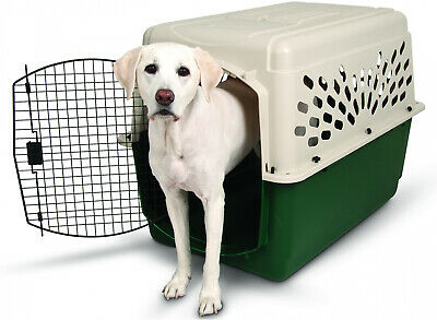 $111.41 • Buy Dog Crate Kennel XL Large Dogs Portable Travel Pet Carrier Bed Home Secure 40