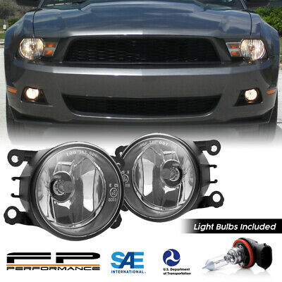 $29.99 • Buy For 05-12 Ford Mustang 4F9Z-15200-AA Direct Replacement Fog Lights Assembly Pair