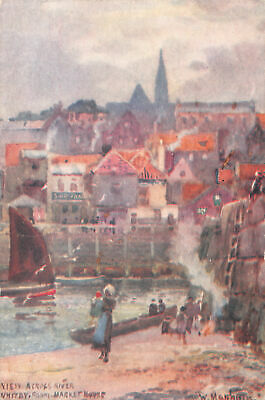 R300472 Whitby. From Market House. View Across River. J. T. Ross • 6.75£