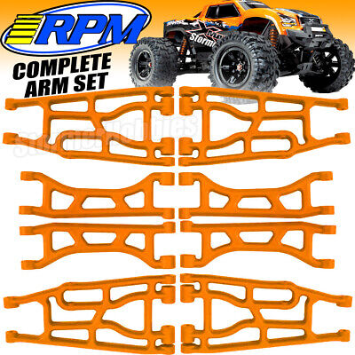 AU114.57 • Buy Complete Set Of (4) RPM Traxxas X-Maxx A-arm Upper & Lower Orange 82358