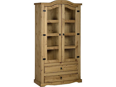 £267.95 • Buy Seconique Corona Mexican Solid Pine Furniture Dining & Living Room - Waxed Pine