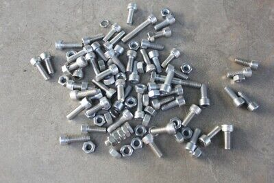 AU9.99 • Buy Lot Of Stainless Steel Bolts M 8 Plus Some Nuts