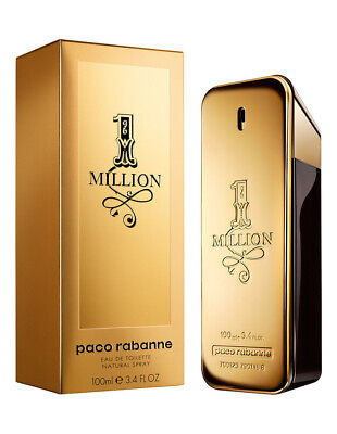 AU98.90 • Buy 1 Million 100ml EDT Spray For Men By Paco Rabanne