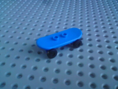 Lego Accessory Skateboard With Black Wheels [42511c01] Blue X1 • 2.40£