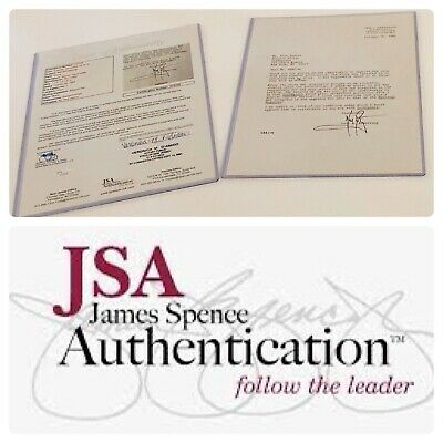 $2500 • Buy Angry Neil Armstrong Letter * Jsa Loa * [ Apollo 11 ] Autograph / Signed