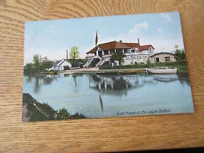 Postcard Of Boat House On The Lagan, Belfast (Unposted) • 0.99£